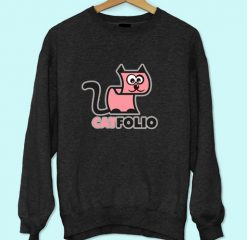 Cat Folio Sweatshirt