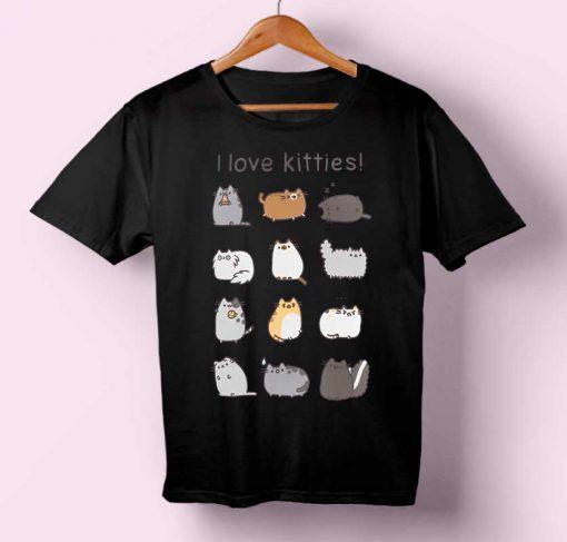I Love Kitties T-shirt