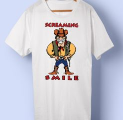 Screaming smile T-shirt