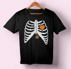 Spider in Heart T-shirt