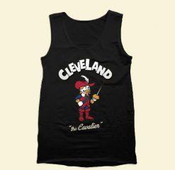 Cleveland Cavaliers Mascot Tank Top Mens Tank Top Womens