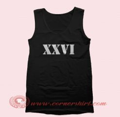 XXVI Tank Top Mens Tank Top Womens