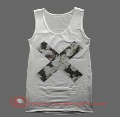 X Flowers Tank Top Mens Tank Top Womens