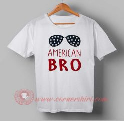 Buy T shirt American Bro Independence Day T shirt For Unisex