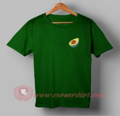 Pocket Avocado Custom Design T shirts