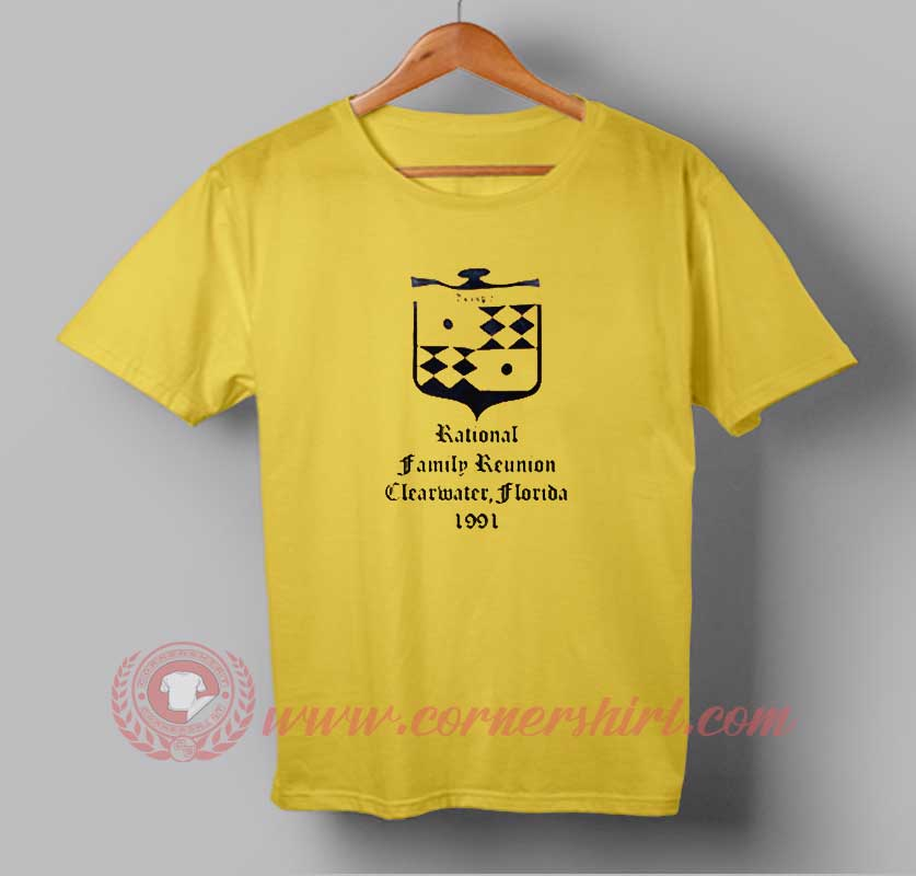 12d2a6525 Rational Family Reunion Clearwater Logo Custom Design T shirts.