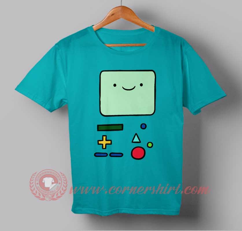 Adventure Time Bmo Custom Design T Shirts Custom Design Shirt