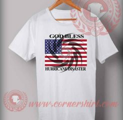 God Bless USA From Hurricane Disaster T shirt