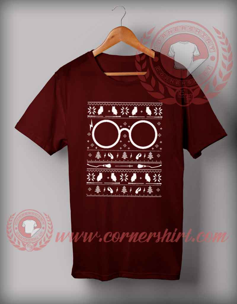5929468a Harry Potter Christmas T shirt Funny Christmas Gifts For Friends