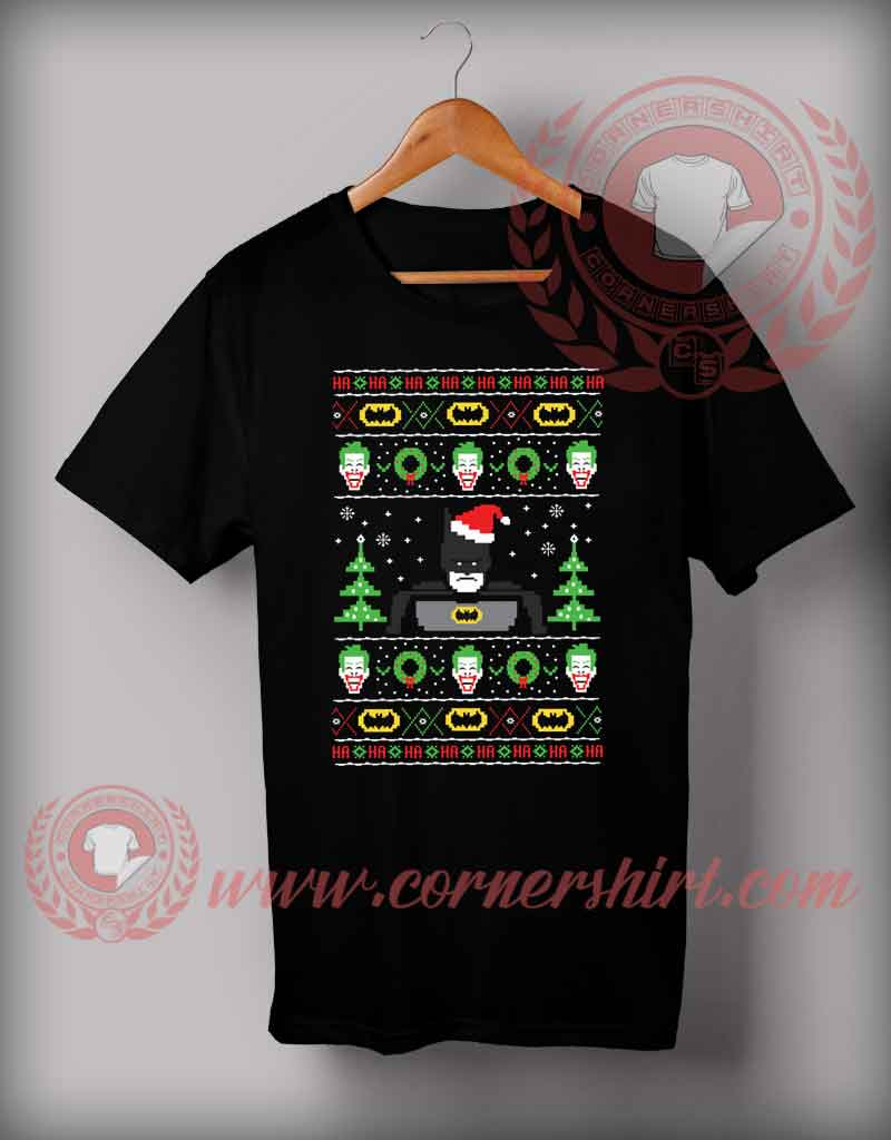 a33aed03 Batman Ugly Christmas T shirt Funny Christmas Gifts For Friends