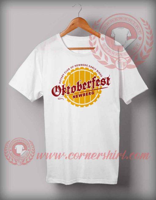 Cheap Custom Made Newberg Octoberfest T shirts