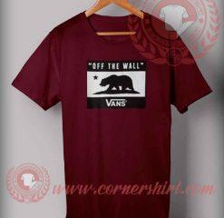 Vans Off The Wall Logo T shirt