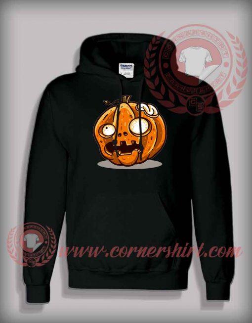 Zombie Pumpkin Halloween Hoodie