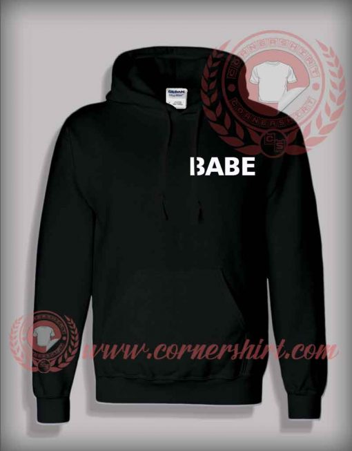 Babe Pullover Hoodie