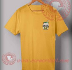 Banana Milk Pocket T Shirt