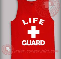 Life Guard Logo Tank Top Mens or Womens