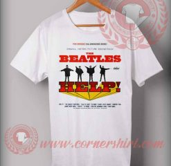The Beatles Help Albums T shirt