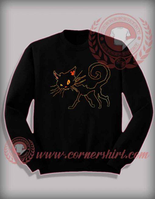 Aley Cat Halloween Sweatshirt