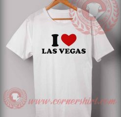 I Love Las Vegas T shirt