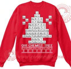 Chemist Tree Christmas Sweatshirt
