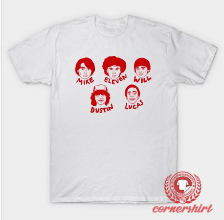 bbb6684b9 Stranger Things Names Custom Design T Shirts - Stranger Things Shirts
