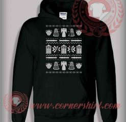 Who's Christmas Ugly Pullover Hoodie