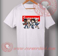 a64d64b03 Custom Design Stranger Things Kids Supreme T Shirts