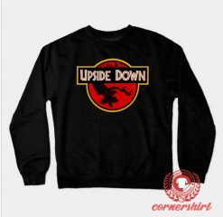 Upside Down Custom Design Sweatshirt
