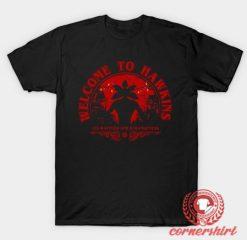 Welcome to Hawkins Custom Design T Shirts