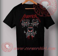 Baby Metal Custom Design T shirts