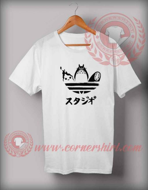 Totoro And Friends Custom Design T shirts