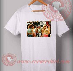 1980s Fashion for Teenage Girls Custom Design T shirts
