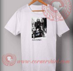 Aaliyah Signature Custom Design T shirts