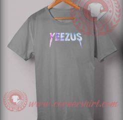 Yeezus Watercolor Custom Design T shirts