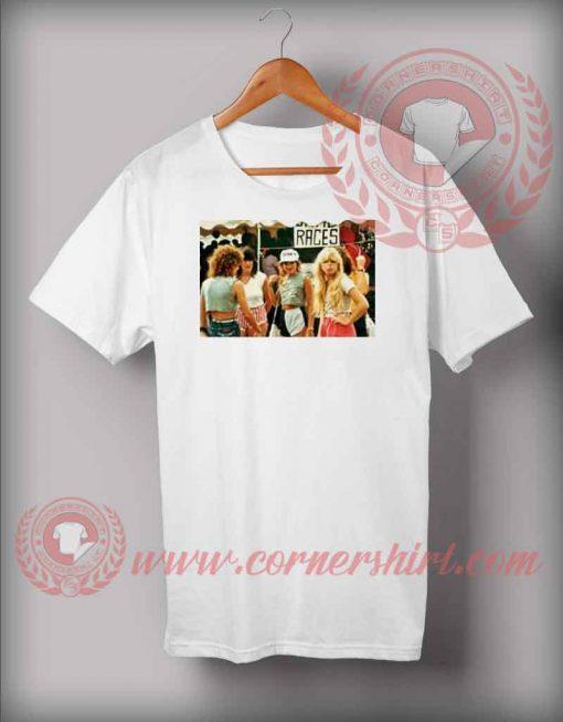 1980s Fashion for Teenage Girls T shirt