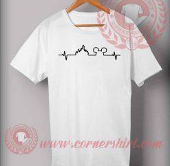 Disney Heartbeat Mickey Castle T shirt