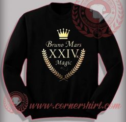 Bruno Mars 24k Magic Sweatshirt