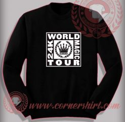 Bruno Mars World Tour Sweatshirt