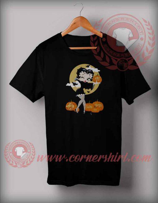 Betty Boo Halloween T shirt