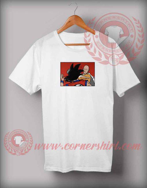 Saitama Punch Goku T shirt