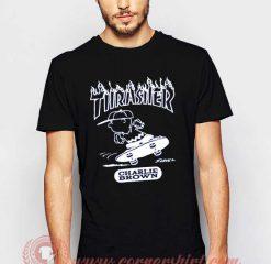 Thrasher Charlie Brown T shirt