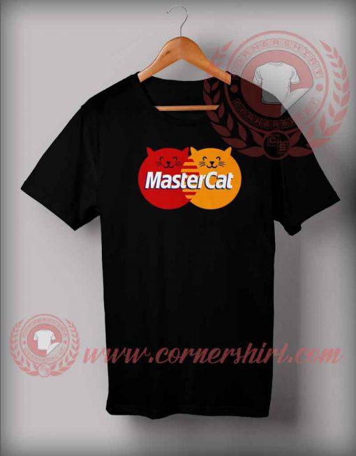 Japanese Mastercat Parody T shirt
