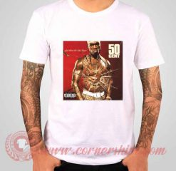 50 Cent Get Rich Or Die Tryin' Albums T shirt