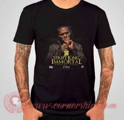 50 Cent Street King Immortal Albums T shirt