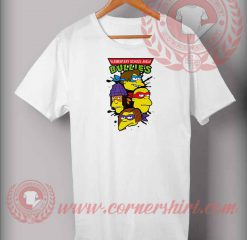 Bart Ninja Bullies Parody T shirt