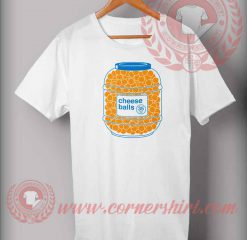 Cheese Balls Logo T shirt