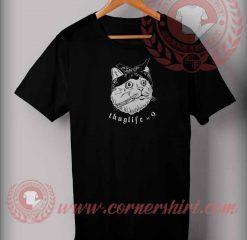 Thuglife Cat Parody T shirt