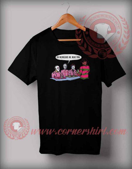 Wednesday We Wear Pink T shirt