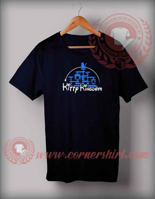 Kitty Kingdom Castle T shirt