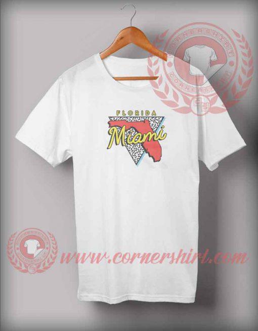 Miami Beach Florida Vintage T shirt
